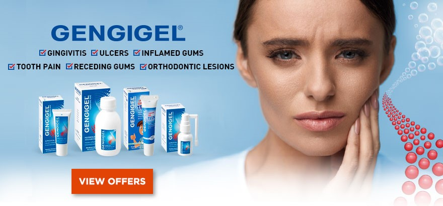 Gum Care products banner