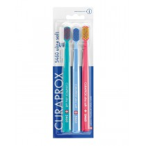 Curaprox 5460 Ultra Soft Brush 3-Pack - main product image