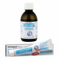 Curasept Kit: Maintenance Mouthwash + Toothpaste