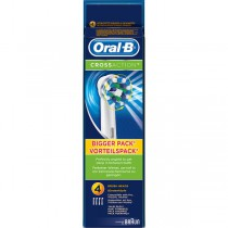 Braun Oral-B Cross Action Replacement Heads - pack of 4 - image