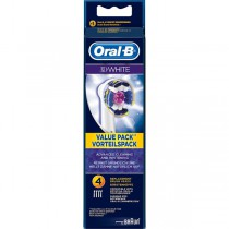 Braun Oral-B 3D White Replacement Heads 4's - image