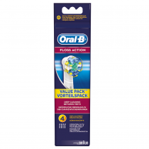 Oral-B Floss Action Replacement Heads 4's - main product image