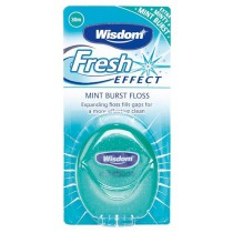 Wisdom Fresh Effect Mint Burst Expanding Floss 30m - image