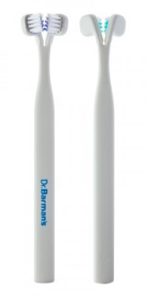 Dr Barman's Special 2 Medium - unique, manual toothbrush is dedicated for receding and sensitive gums -