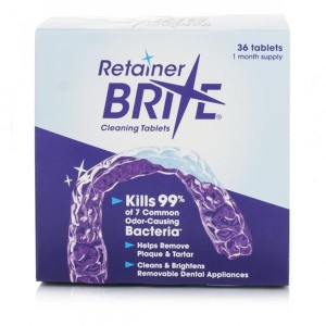 Retainer Brite Cleaning Tablets - image
