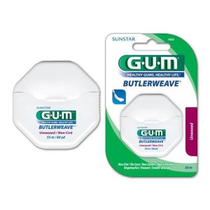 GUM ButlerWeave Unwaxed Floss 55m - image