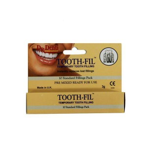 Dr Denti Tooth-fil Temporary Tooth Filling - image