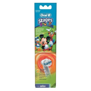 Braun Oral-B Stages Power Mickey Kids Heads Twin Pack - image