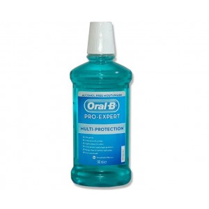 Oral-B Pro-Expert Multi Protection Alcohol Free Mouthwash 500ml - image