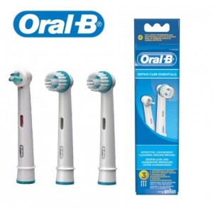 Braun Oral-B Ortho Care Essentials Replacement Heads - image