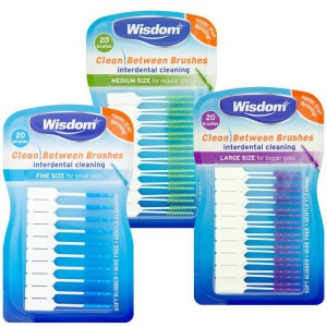 Wisdom Clean Between Interdental Brushes - product photo