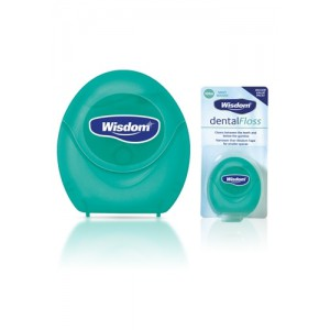 Wisdom Dental Floss Mint | Waxed 100m - image