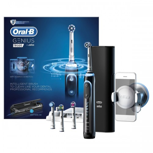Oral-B Pro 9000 Genius Black Electric Toothbrush - image