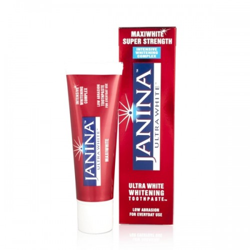 Janina Ultra White Maxiwhite Super Strength Whitening Toothpaste 75ml - image