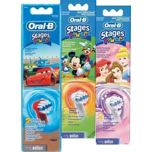 Braun Oral-B Stages Power Kids Heads Twin Pack image