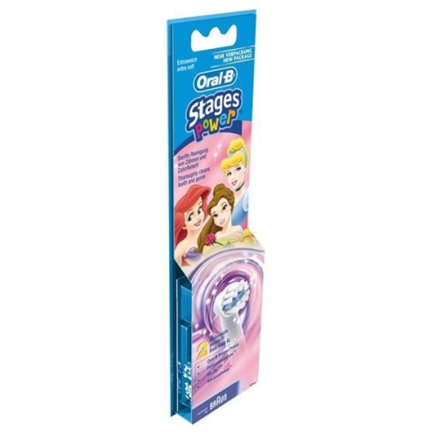 Braun Oral-B Stages Power Princess Kids Heads Twin Pack - image