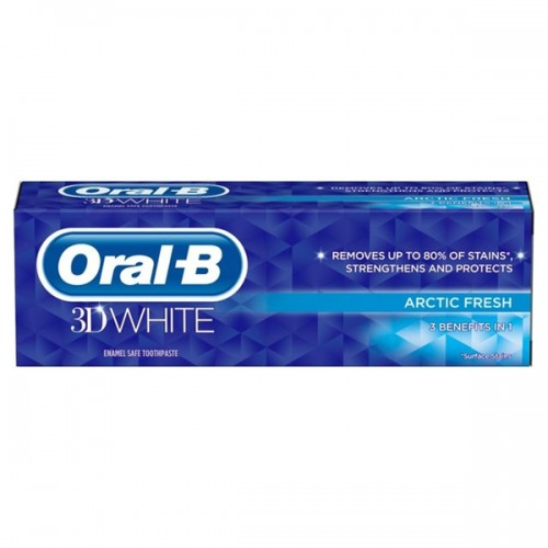 Oral-B 3D White Arctic Fresh Toothpaste 75ml - image