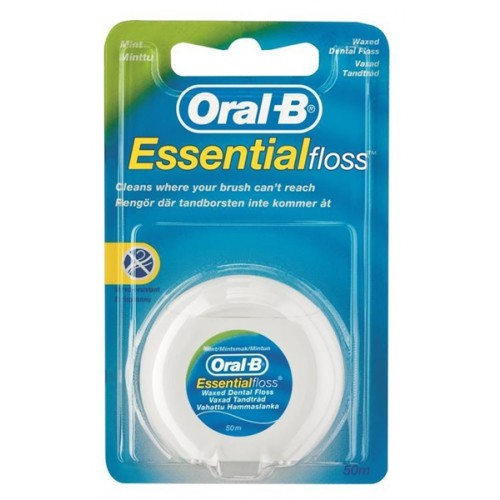 Oral-B Essential Floss Waxed Mint 50m - image