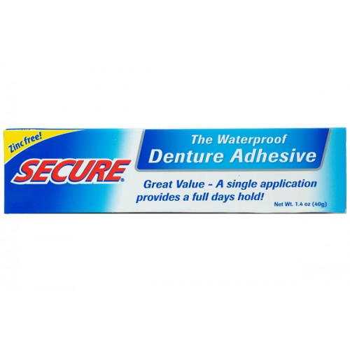 SECURE Denture Adhesive Cream 40g - image