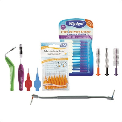 Main image of popular product category - Interdental brushes, showing Wisdom Clean Between Brushes