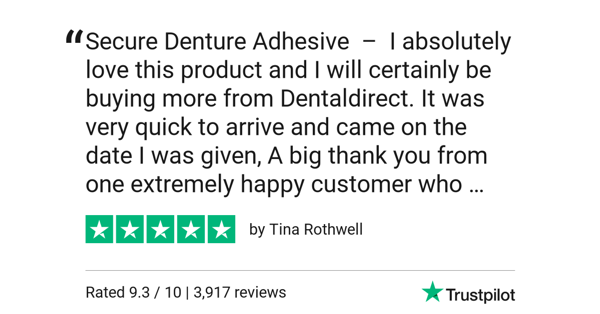 SECURE Denture Adhesive Cream Review
